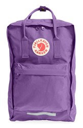 Fjall Raven Fj Llr Ven 'K Nken' Laptop Backpack Purple 17 Inch