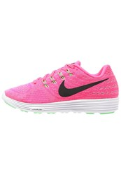 Nike Performance Lunartempo 2 Cushioned Running Shoes Pink Blast Black White Green