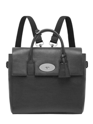 Mulberry Cara Delevingne Leather Backpack Black