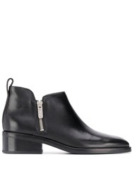 3.1 Phillip Lim Alexa Low Ankle Boots Black
