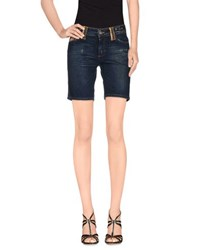 Galliano Denim Denim Bermudas Women