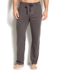 Perry Ellis Men's Sleepwear Cotton Blend Lounge Pants Grey