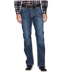 Rock And Roll Cowboy Double Barrel In Dark Vintage M0d7381 Dark Vintage Jeans Navy