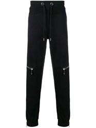 Philipp Plein Zip Trim Sweatpants Black