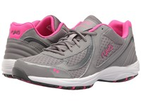 Ryka Dash 3 Frost Grey Steel Grey Athena Pink Cool Mist Grey Women's Walking Shoes Gray