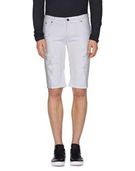 Imperial Star Imperial Denim Denim Bermudas Men White