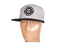 Brixton Oath Iii Heather Grey Black Traditional Hats Gray