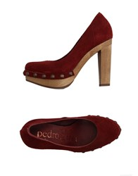 Pedro Garcia Pedro Garcia Footwear Courts Women Brick Red