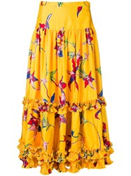 La Doublej Salsa Skirt Yellow