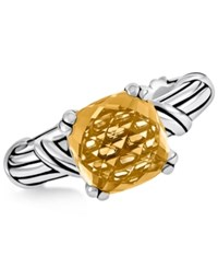 Peter Thomas Roth Citrine Ring 4 Ct. T.W. In Sterling Silver Orange