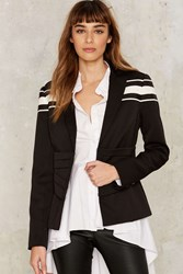 Nasty Gal Collection Corset In Motion Lace Up Blazer 74125