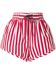 Tommy Hilfiger Casual Drawstring Shorts Red