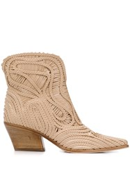 Le Silla Charlize Braided Ankle Boots 60