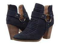 Seychelles Impossible Navy Suede Women's Boots Blue