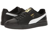 Puma Clyde Core L Foil Black White Gold Men's Shoes Multi