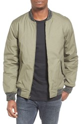 Quiksilver Men's Mixing Time Bomber Jacket