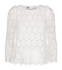 Claudie Pierlot Baba Lace Top Female White