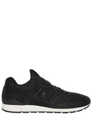 New Balance 996 Perforated Nubuck Sneakers
