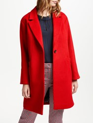 Boden Holywell Coat Post Box Red