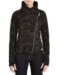 Bench Definite Asymmetrical Zip Jacket Jet Black