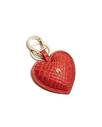 Etienne Aigner Heart Key Fob Persimmon