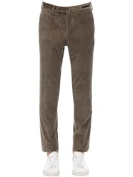 Pt01 Supersoft Stretch Cotton Corduroy Pants Taupe