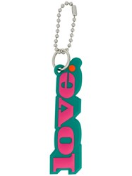 Marc Jacobs Love Bag Charm Pink And Purple
