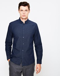 Selected Christian Tap Shirt Navy