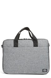 Wesc Men's Lee Laptop Bag Metallic Grey Melange