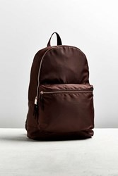 Urban Outfitters Uo Satin Backpack Chocolate