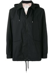 A Kind Of Guise Hooded Zipped Jacket Black