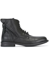 Bruno Bordese Lateral Zipped Boots Black