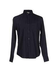 Band Of Outsiders Shirts Shirts Men Dark Blue