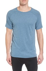 Alo Yoga 'S The Triumph Crewneck T Shirt Denim Triblend