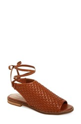 Kelsi Dagger Women's Brooklyn Stockholm Sandal Cinnamon Leather
