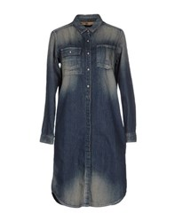 Johnbull Dresses Short Dresses Women Blue
