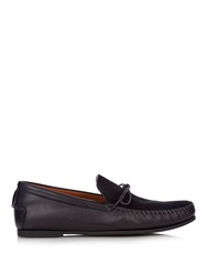 Tomas Maier Suede And Leather Loafers