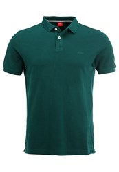 S.Oliver Red Label Polo Shirt Cool Emerald Green