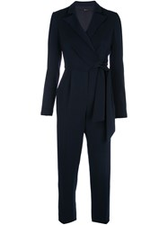 Jay Godfrey Wrap Front Tailored Jumpsuit 60