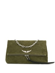 Zadig And Voltaire Rock Crossbody Bag Green