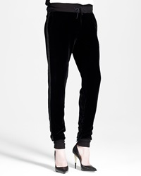 Rag And Bone Rag And Bone Slouchy Velvet Track Pants Large