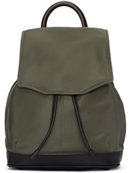 Rag And Bone Green Mini Pilot Backpack