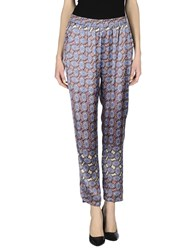 Fairly Trousers Casual Trousers Women Blue