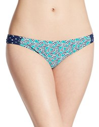 Sperry Printed Bikini Bottom Blue