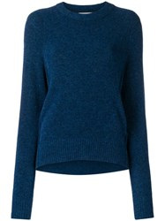3.1 Phillip Lim High Low Pullover Blue