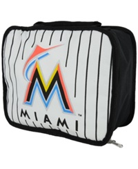 Concept One Miami Marlins Lunchbreak Lunch Bag Black