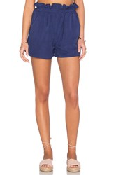 Mara Hoffman Paper Bag Short Navy