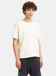 Snow Peak Organic Wide Neck T Shirt Naturals
