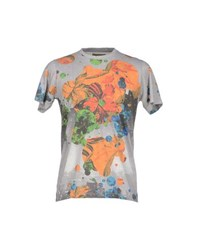 Amaranto Topwear T Shirts Men Light Grey