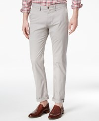 Ben Sherman Men's Slim Fit Stretch Chinos Only At Macy's Light Ash